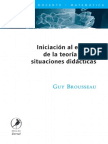 Guy Brousseau - Iniciacion al estudio de la teoria de las situaciones didacticas.pdf