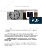 Analog and Digital Signal