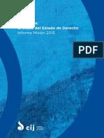 Venezuela OcasoEstadoDerecho Publications Reports 2015 SPA