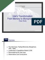 Intel Case Study