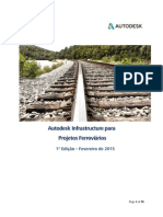 Autodesk Infrastructure Para Projetos Ferroviários
