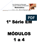 1ª Série Em - Módulos 1 a 4 (Parc Aprendiz)