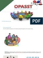 Copasst(Comité Parital de Seguridad y Salud en El