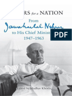 Jawaharlal Nehru - Letters for a Nation - From Jawaharlal Nehru to His Chief Ministers 1947-1963