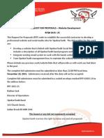 RFQ 2015-25 Website Development