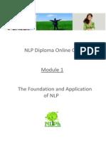 NLP Diploma - Module 1