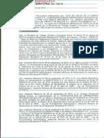 RESOLUCIÓN MINISTERIAL Nº 728/15 DE 6 DE OCTUBRE DE 2015 QUE DA VIGENCIA A LOS REGLAMENTOS INTERNOS DE DE TRABAJO YA APROBADOS