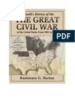 History of the Great Civil War in the US