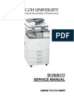 Service Manual Ricoh D176