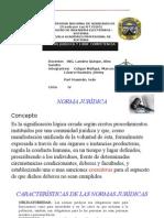 Expocicion Norma Jurídica y Libre Competencia