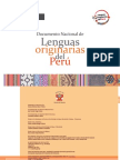 Documento Nacional de Lenguas Originarias