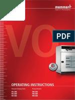 Memmert Oven Manual