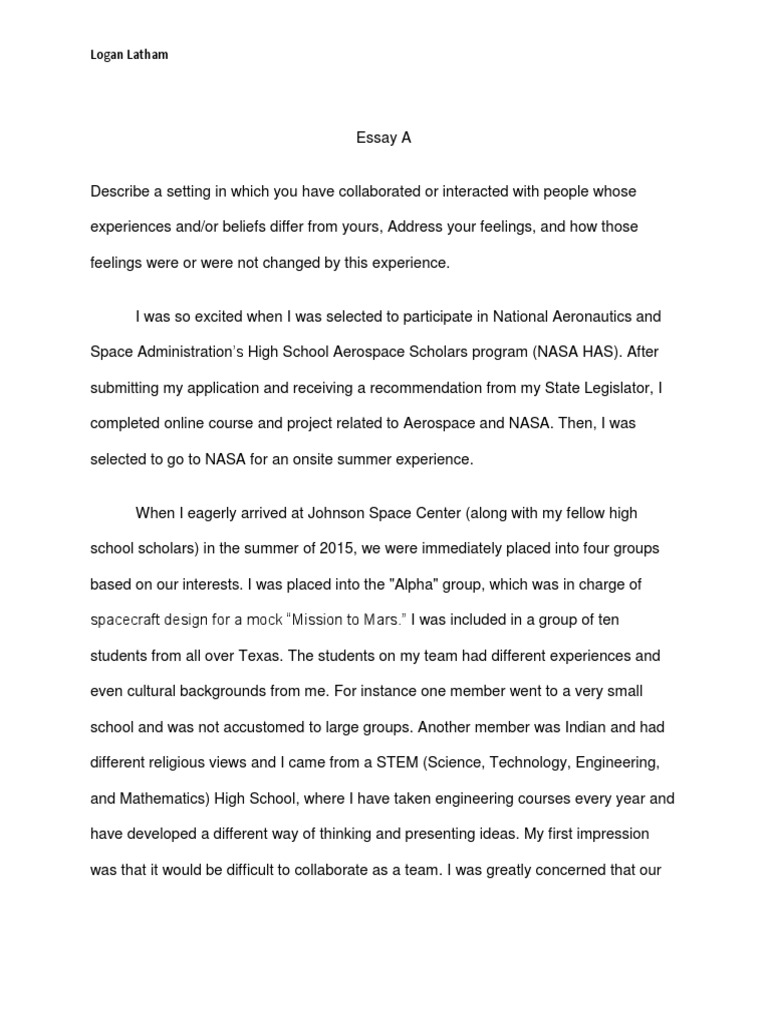 What Is A Thesis Of An Essay Essay A Nasa Science Technology Engineering And Mathematics V  Essay A Essay About Science And Technology Essay About Science And  Technology Thesis Statement Essay Example also Mental Health Essay Essay About Science And Technology Example Of Literature Review Essay Business Studies Essays