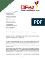 Carta Dipaz Cese Bilateral