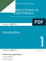 Project Finance Primer