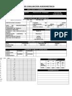 Ficha de Evaluacion Audiometrica 321456