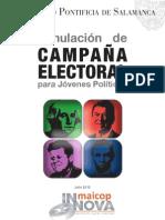 Simulación de campaña electoral para jóvenes políticos