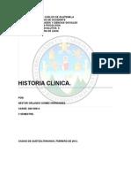 Historia Clinica Daniel