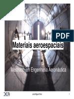Materiais aeroespaciais