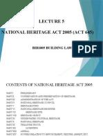 National Heritage Act Malaysia