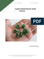 Single-threaded Tatted Platonic Solids Tutorial