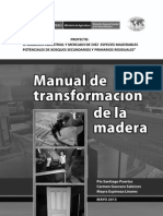 Technical Report - Manual de Transformacion de La Madera