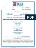 Young Professionals Reception for Elise Stefanik