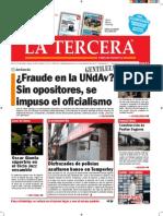 Diario La Tercera 30.10.2015