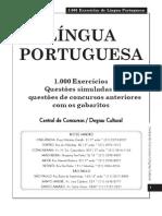 1000 testes de português para concursos!