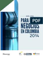 EY Proexport Legal Guide 2014 (Español)