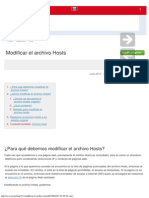 Modificar El Archivo Hosts