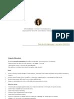 Plano de Actividades BE 2009_2010