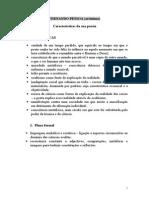 Fernando Pessoa - Características Ortónimo