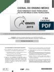 ENEM 2015 - Caderno Branco - Sábado