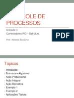 Controle de Processos Unidade3-Estrutura