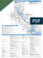 Blue Metro Timetabel