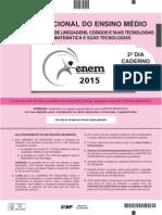 ENEM 2015 - Caderno Rosa - Domingo