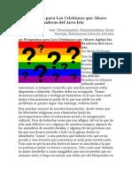 40 Preguntas Para Los Cristianos Que Ahora Agitan Las Banderas Del Arco