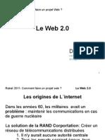 Comment faire un projet Web? Le web 2.0 3/15