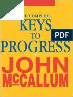 John McCallum - The Complete Keys to Progress (1)