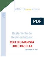 Reglamento de Régimen Interior 2009-2010 Liceo Castilla