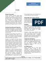 Zacsil Potassium Silicate Data
