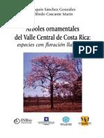 Árboles Ornamentales Del Valle Central de Costa Rica