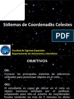 Sistema de Coordenadas Celestes