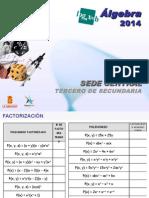 Algebra 3ero - Factorización