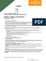 NFP-MA 2010 Form