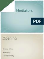tips for mediators