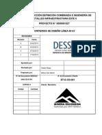 Criterios de Diseño 69 kV