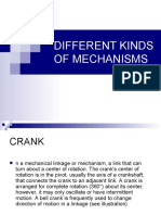 Different Kinds of Mechanisms