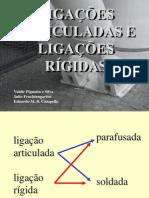 Conexoes 2 - Ligações Articuladas e Ligações Rígidas - 2014